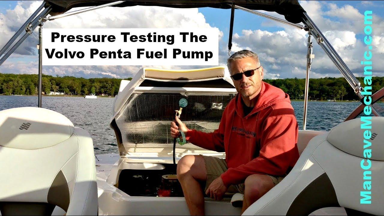Pressure Testing The Volvo Penta Fuel Pump
