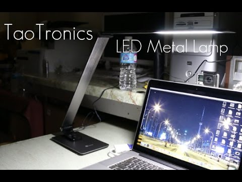Metal Led Lamp To Spice Up The Desk Taotronics Metal