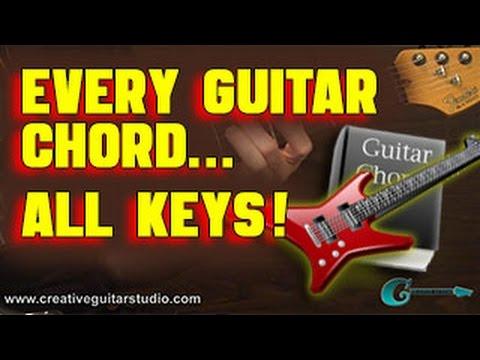 🎸  Every Popular Guitar Chord in All Musical Keys!