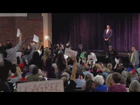 Angry constituents pack Congressional town halls and Kellyanne Conway faces ethics probe