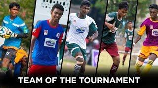 Team of the Tournament - Schools Football 2015/16