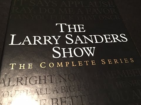 The Larry Sanders Show Complete Series DVD Boxed Set Unboxing