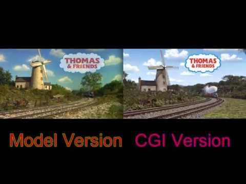 Thomas and Friends Intro Comparison: (Model Version vs CGI Version)