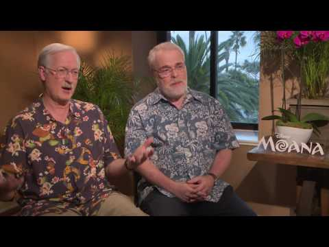 Moana: Ron Clements & John Musker Official Movie Premiere Interview