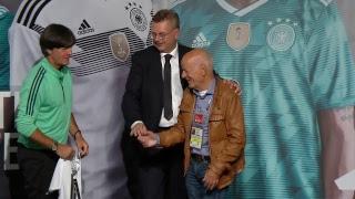 LIVE aus dem DFB-Medienzentrum Vatutinki mit Reinhard Grindel und Joachim Löw