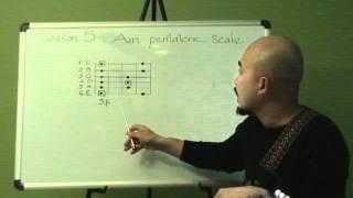 Tự học guitar solo bài 5 (Am pentatonic scale)