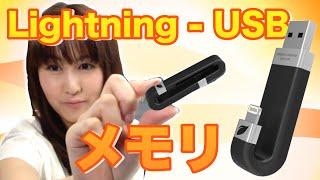 簡単!データ移動「USB/Lightningフラッシュメモリ leef iBRIDGE」