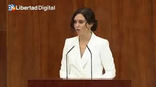 Díaz Ayuso se compromete a honrar a las víctimas