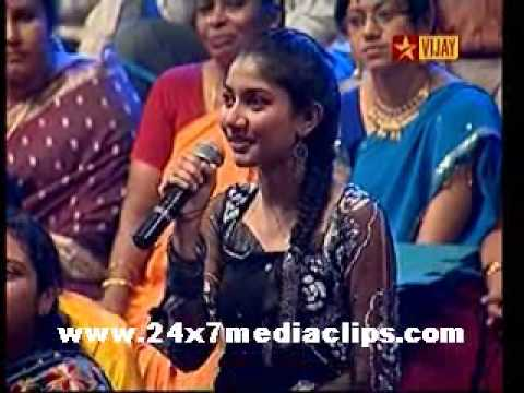 Vijay Tv Shows 3-12-2009 Ungalil Yaar Adutha Prabhu Deva Part 4.