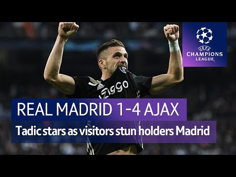 Real Madrid vs Ajax (1-4) | UEFA Champions League Highlights