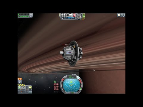 Kerbal Space Program- Outer Planets Mod: Sarnus Entry Probe