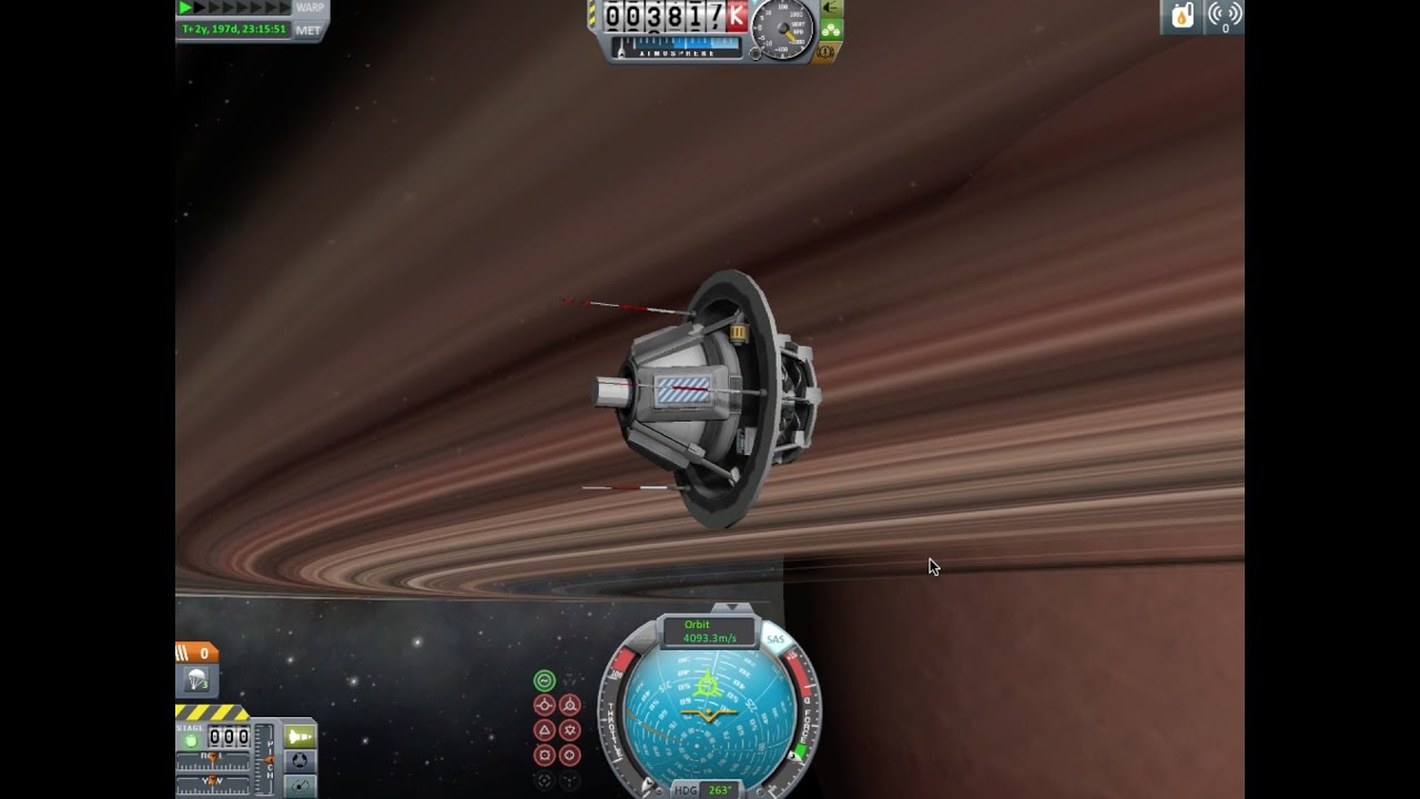 Kerbal Space Program- Outer Planets Mod: Sarnus Entry ...