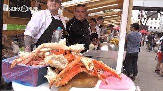 В Казани открылся фестиваль еды Open Food Market
