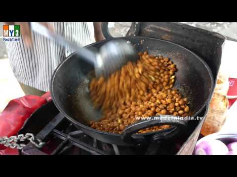 AMAZING HEALTHY FOODS IN INDIA | CHICK PEAS FRY | Spicy Chana FRY