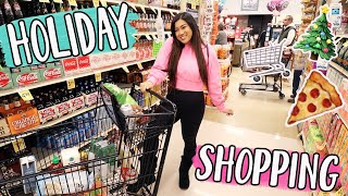 Holiday Grocery Shopping With Alisha!! Vlogmas Day 3