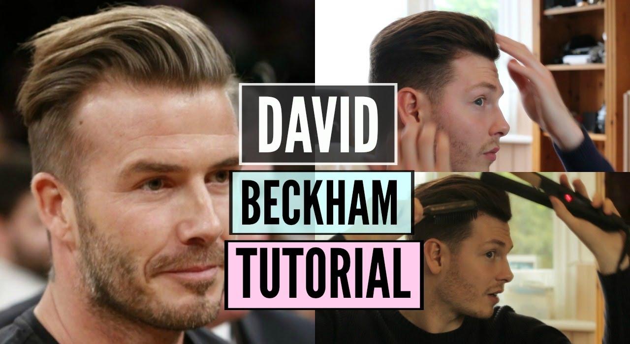 david beckham hairstyle & haircut 20168- best mens hairstyle 2018