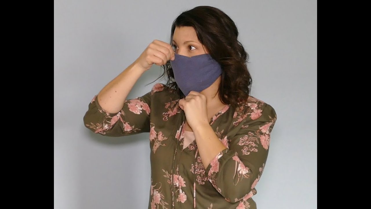 How to make your own face mask. No sewing required.