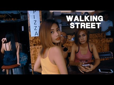 The red light District of the Philippines (Walking street, Angeles)