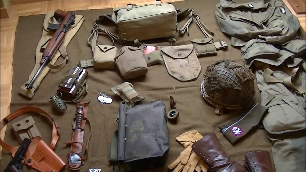 My Ww2 Paratrooper Gear 101st Airborne Doovi