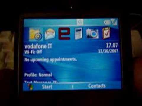 Vodafone MMs configurazione Htc S620