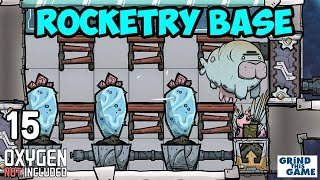 Gas Grass & Pacu Apocalypse - ROCKETRY UPGRADE BASE #15 - Oxygen Not Included