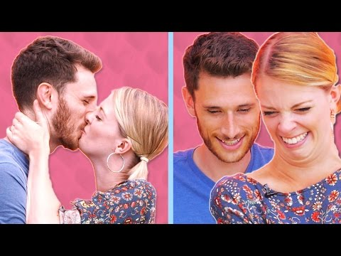 Couples Watch Themselves Kiss In Slow Motion