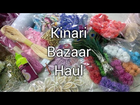 Kinari Bazaar Haul Craft Material Shopping | CraftLas