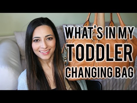 WHAT&39;S IN MY CHANGING BAG Toddler Update + Storksak Elizabeth Review  Ysis Lorenna