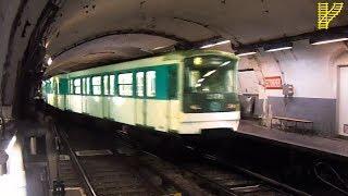 RATP MF67 CHANGEANT DE VOIE à la GARE d'AUSTERLITZ (Métro de Paris)