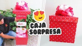 DIY♥ Caja Sorpresa !! Quieres ser mi novia???♥♥