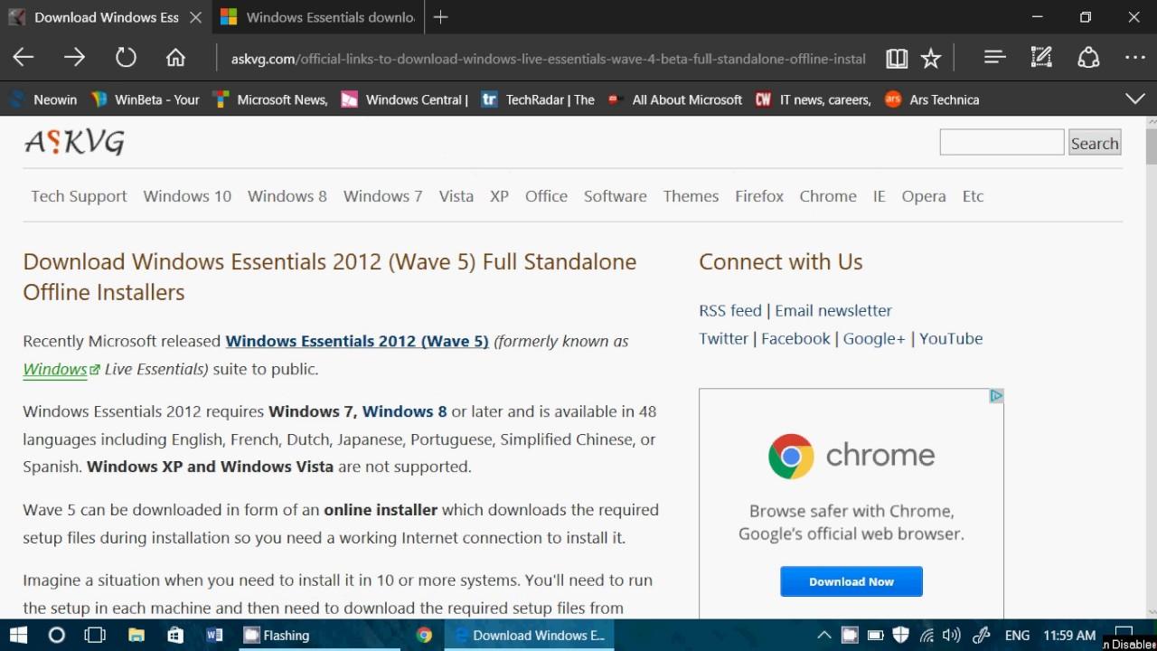 Windows Live Essentials Windows 10 - Free downloads and ...