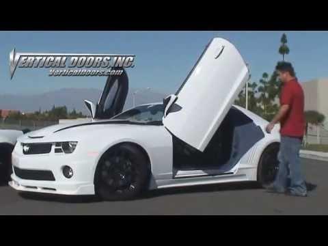 Camaro with Vertical Doors Inc Lambo Doors and Corvette