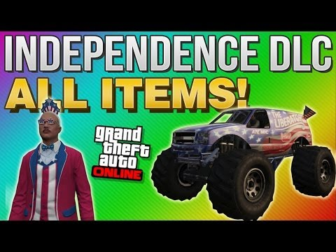 GTA 5 Online Independence Day DLC - ALL New Items on GTA 5 Online! (GTA 5 DLC)