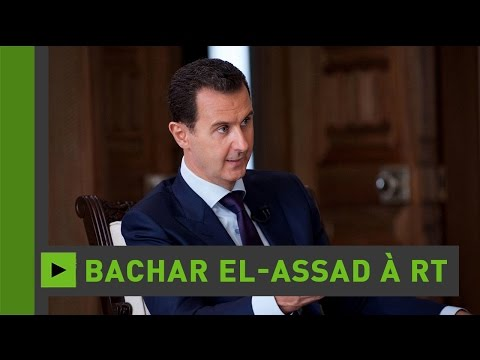 Bachar el-Assad à RT : la trêve proposée par les Occidentaux a pour but de sauver les terroristes