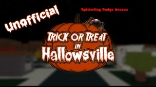 Roblox: Trick or Treat in Hallowsville - Spiderling Rescue Badge