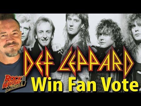 Big Mike - Def Leppard Wins Fan Vote