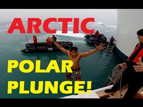 Arctic Polar Plunge GREENLAND (Buhay sa Cruise Ship)