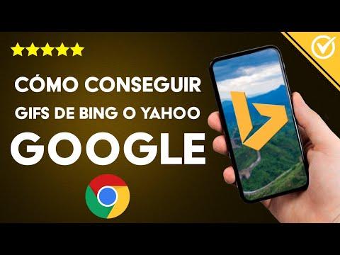 Cómo Buscar y Conseguir Imágenes Animadas Gifs de Bing o Yahoo en Google - Fácil y Rápido