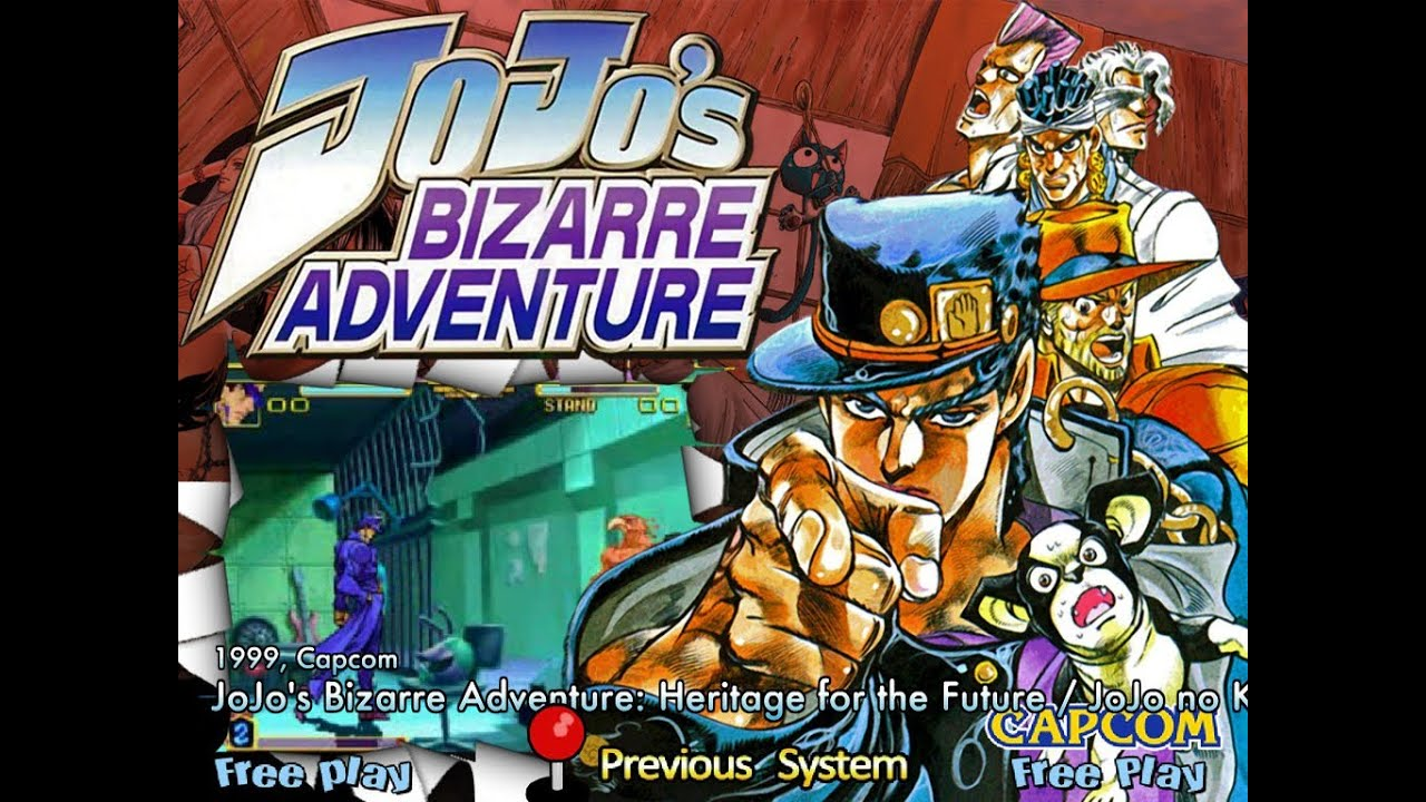 JoJo's Bizarre Adventure (Arcade) - YouTube