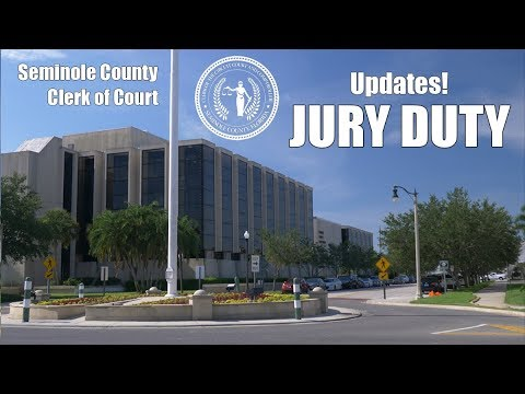 Jury Duty in Seminole County, Florida - Clerk of Courts