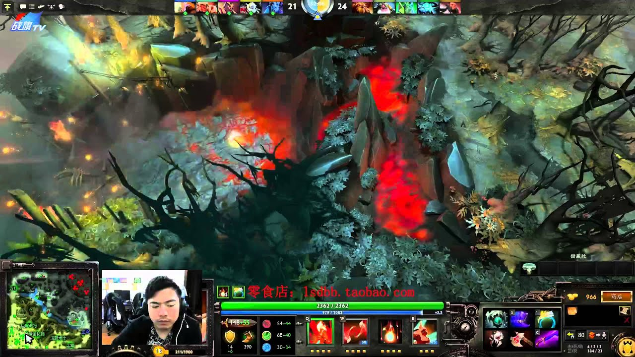 burning dota 2 303 youtube