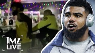 Ezekiel Elliot Cuffed After Altercation At EDC | TMZ Live