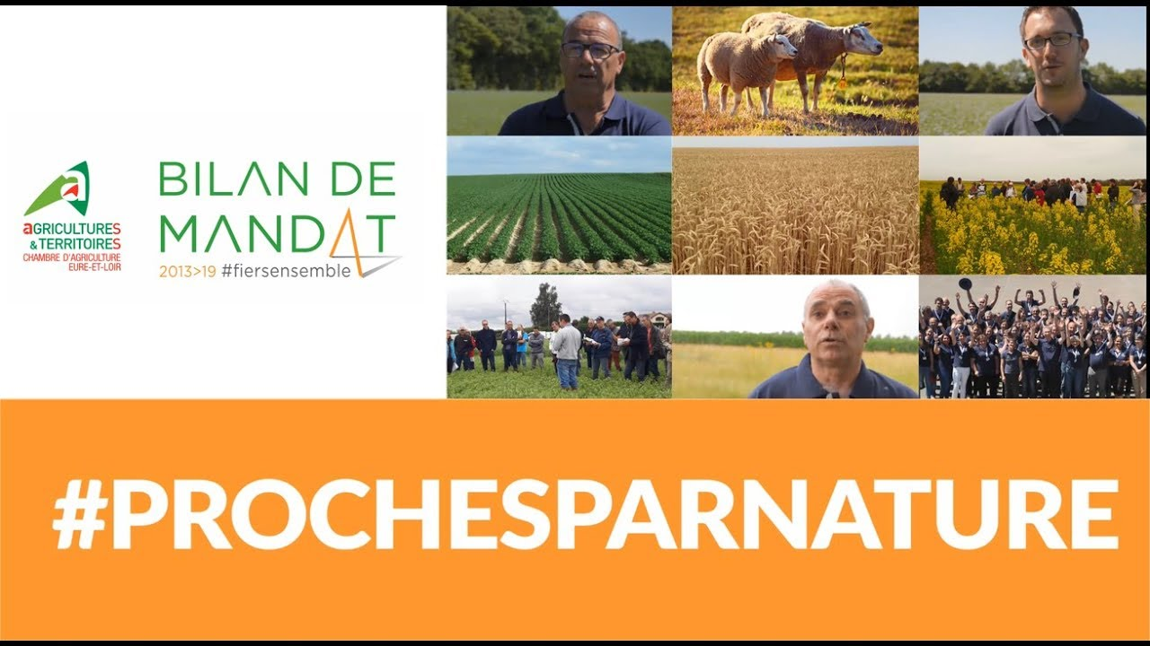 Prochesparnature bilan de mandat chambre d 39 agriculture - Chambre d agriculture eure ...