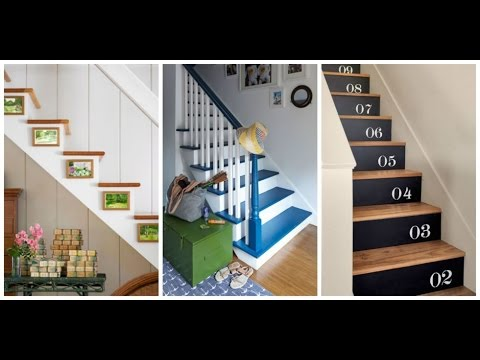 Unique Stair Risers Decoration   Super Easy Way How To DIY