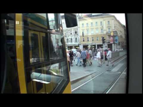 Budapest Korut Tram Ride