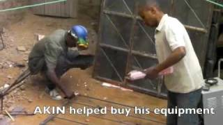 Kenyan kids become welders, carpenters and auto mechanics