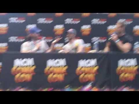 TOM HOPPER & RUPERT YOUNG & EOIN MACKEN on Manchester Comic Con 2013