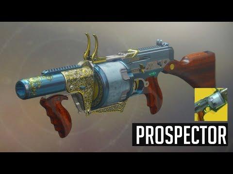 Destiny 2: The Prospector Exotic Gameplay