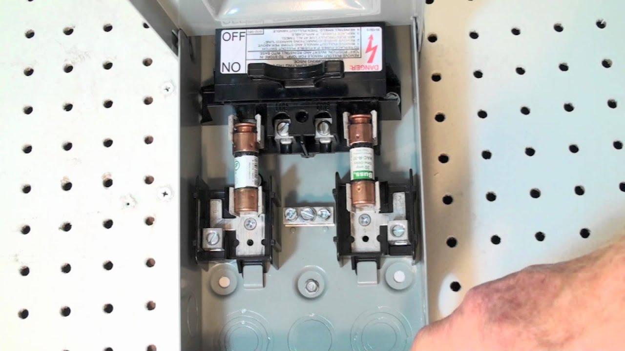outside lever ac fuse box