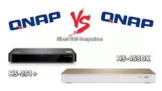 Qnap Silent NAS HS-251+ 2-Bay RAID (2GB RAM)